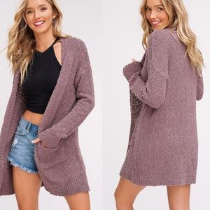 IN STOCK SKYLAR Softest Breathable Cardigan- MOCHA